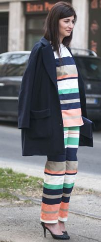 Street Style Stripes | Spring 2013 Trend