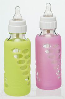 Dr. Browns Glass Baby Bottles With Protective Silicone Sleeve