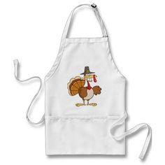 turkey pilgrim aprons  #zazzle #thanksgiving #holiday
