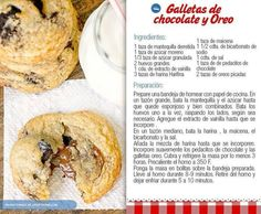 Galleta de chocolate y oreo