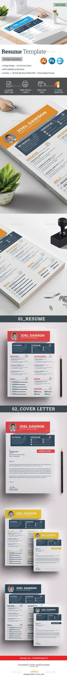 Resume Template Resume ideas and