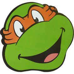 Teenage-Mutant-Ninja-Turtles-TMNT-Michelangelo-Maske-Pappe.jpg (1000×1000)