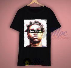 Free Kodak T Shirt Rapper Outfit