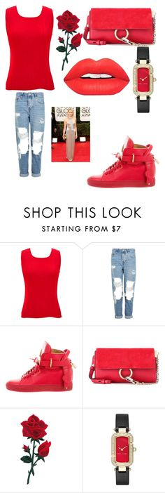 """Untitled #375"" by july162003 on Polyvore featuring jon & anna, Topshop, BUSCEMI, Chloé and Marc Jacobs"