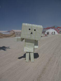 Burning Man present