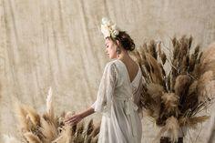 "Beautiful Boho Wedding Gowns for Lihi Hod ""White Bohemian"" Bohemian Wedding Dresses, Wedding Gowns, Our Wedding, Wedding Things, Love Fest, White Bohemian, Bridal Separates, Green Wedding Shoes, Unique Weddings"
