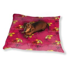 Uneekee Orchid Pink Dog Pillow Luxury Dog / Cat Pet Bed