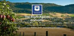 Follow @rightagents on Twitter! Vernon, British Columbia, Real Estate, Twitter, Real Estates