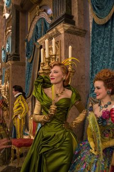 Cate Blanchett in Cinderella. Just stunning. LOVE this!! NEED TO COSPLAY!!