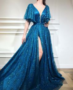 Vivid Saphire TMD Gown