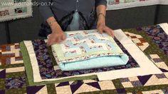How to make a secret pillow or quillow with Valerie Nesbitt (taster video) - YouTube