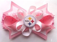 Pittsburgh Steelers Hair Bow