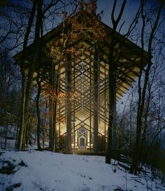 Thorncrown Chapel – Arkansas, USA