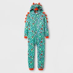 Make bedtime more fun with this Green Lizard Hooded Blanket Sleeper from  Cat and Jack. 5d2c38770