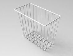 Wall basket, simple but nice.