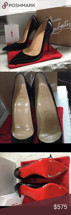 Christian Louboutin So Kate Patent Leather Pump Beautiful, worn 2 times So Kate Patent Leather Pump 120 mm size 38.5. Perfect condition! Christian Louboutin Shoes Heels