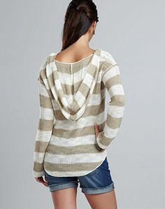 Striped Pullover Hoodie - Lucky Brand Jeans