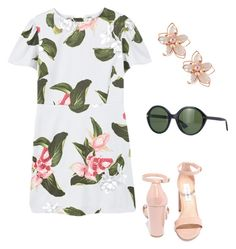 """""""Day Out"""" by maggiekane1 on Polyvore featuring MANGO, Steve Madden, NAKAMOL and Gucci"""