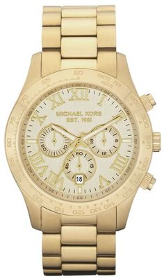 Designer Michael Kors Watch