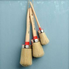 Fusion™ paint glides beautifully onto your surface and a high quality product deserves high quality tools. Our brushes are made up of only the finest quality materials by true craftsmen. Hand made in Italy our brushes are sure to give you a flawless finish. We have chosen to work with only the best brush supplier known for it's high end artists brushes. These brushes can be used for both paint and wax. Be sure to use our Brush Soap Cleaner to keep your bristles in pristine condition…