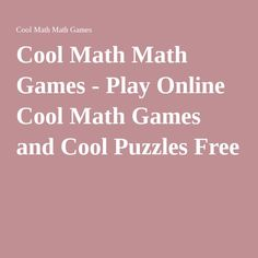 cool math games 1000 games to play free