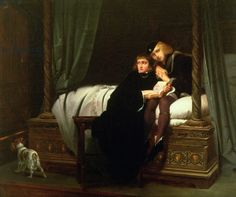 Edward V and the Duke of York in the Tower, 1830 (oil on canvas)