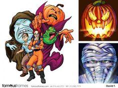 FamousFrames Storyboards, Animatic Artists, Storyboard Artists, David Threadgold