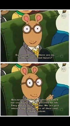 Arthur, always spitting gospel - Imgur