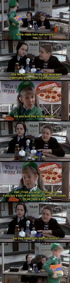 My Favorite Movie Dialogue | Addams Family