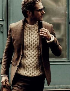 Brown and beige style