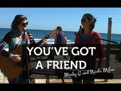 Cover of Carole King's 'You've Got A Friend' by Minky G & Nicola Milan at Trigg Beach in Perth, Western Australia.  Hear more at http://www.nicolamilan.com. #jazz #jazzsinger