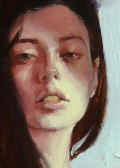 """Slink"" (close-up of female), John Larriva art John Larriva, Portrait Art, Portraits, Cool Paintings, Portrait Inspiration, Say Hello, Techno, Close Up, The Incredibles"
