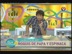 Ñoquis de Calabaza y Salsa de Vegetales   1 de 3   10 12 10 - YouTube