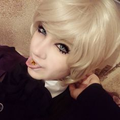 Lolll...first cosplay of Alois turancy Yr eyes r mine!! #blackbutler#blackbutler2#blackbutler3#alois#aloistrancy#aloistrancycosplay#aloiscosplay#kuroshitsuji#kuroshitsuji2#anime#manga#animecosplay#yaoi#animegirl#cute#kawaii#blackbutlercosplay