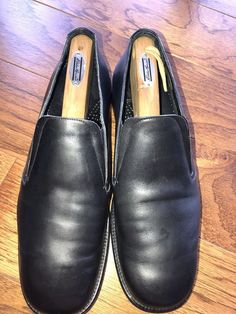 f2bc62f8271 Cole Haan Kens Black Slip On Size 12 Dress Shoes  fashion  clothing  shoes