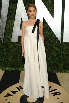Natalie Portman, fiel a Dior como en todas las grandes fiestas.