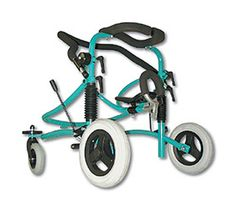 """Our Miniwalk goes anywhere an wheelchair can. It's the walker with """"Playground Cred!"""" Compact design for easy transport with sprung suspension and a rust free finish it can be used anywhere. Suitable for children with mobility disabilities."""