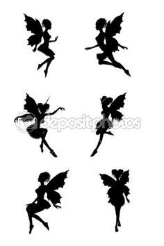 Fairy silhouettes — Stock Image #2692428