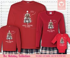 These Photo Christmas Tree Pajamas come in long sleeves and have the option of a custom photo along with a first name or last. #matchingchristmaspajamas #christmaspajamas #familychristmaspajamas #polarexpresspajamas #christmas #holidaypajamas #christmasgift #christmasphotoideas #pajamas #personalizedpajamas #christmas2020 #christmas #pressed4fun #p4f #fununiquecute #holidaypartyoutfit #holidaygift #holidaypartyideas #holidayparty Christmas Eve Outfit, Photo Christmas Tree, Holiday Party Outfit, Christmas Eve Box, Christmas Parties, Matching Christmas Pajamas, Family Christmas Pajamas, Holiday Pajamas, Christmas Shirts