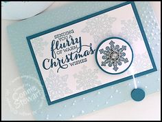 What's New Wednesday - Flurry of Wishes Bundle - check out all the great ideas at www.SimplySimpleStamping.com - November 4, 2015 blog post