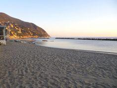 Moneglia, the beach, the village