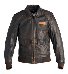 steve mcqueen classic leather jacket triumph motorcycles. Black Bedroom Furniture Sets. Home Design Ideas