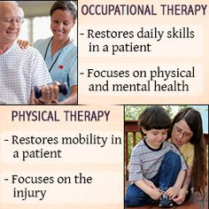 Should I major in physical therapy or occupational therapy?