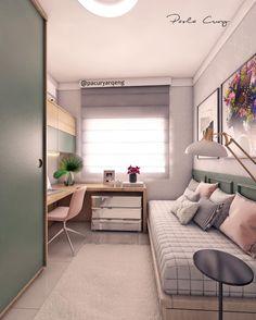spectacular small bedroom design ideas for cozy sleep 18 – Rustic House Small Bedroom Designs, Small Room Design, Small Room Bedroom, Home Bedroom, Bedroom Decor, Bedroom Ideas, Cozy Small Bedrooms, Small Bedroom Interior, Space Saving Bedroom