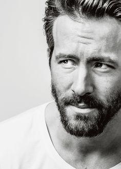 "mancandykings:  "" Ryan Reynolds photographed by Michael David Friberg (2015)  """