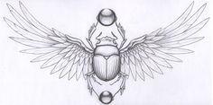 beetle egyptian tattoo - Google 검색