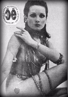 A legszebb magyar szupermodellek, topmodellek, sztármanökenek, manekenek, fotómodellek (RETRÓ): Bakos Ilona szupermodell, sztármanöken