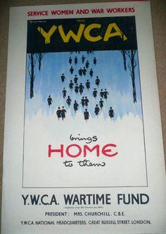 YWCA. World War 2