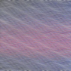 Cataract 3 - Bridget Riley 1967 PVA on canvas 223.5x222   I once had this print as my pencil case at school :)
