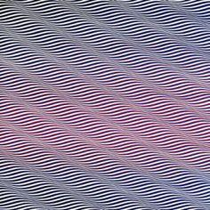 Cataract 3 – Bridget Riley 1967 PVA on canvas OP-art Bridget Riley Artwork, Illusion Art, Geometric Art, Optical Illusions, Pop Art, Painting, Patterns, Geometry, 1960s